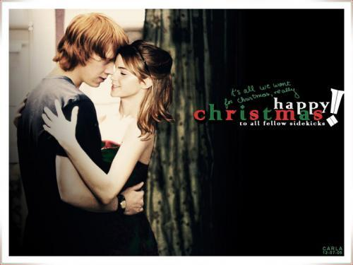Romione wallpaper entitled Happy Christmas from Romione