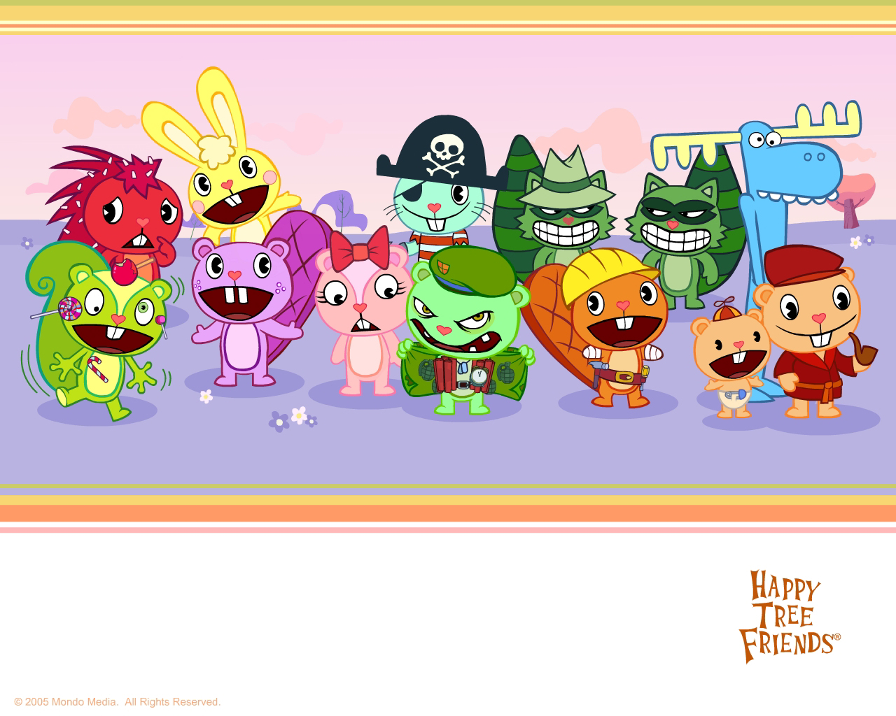 hapyy tree friends