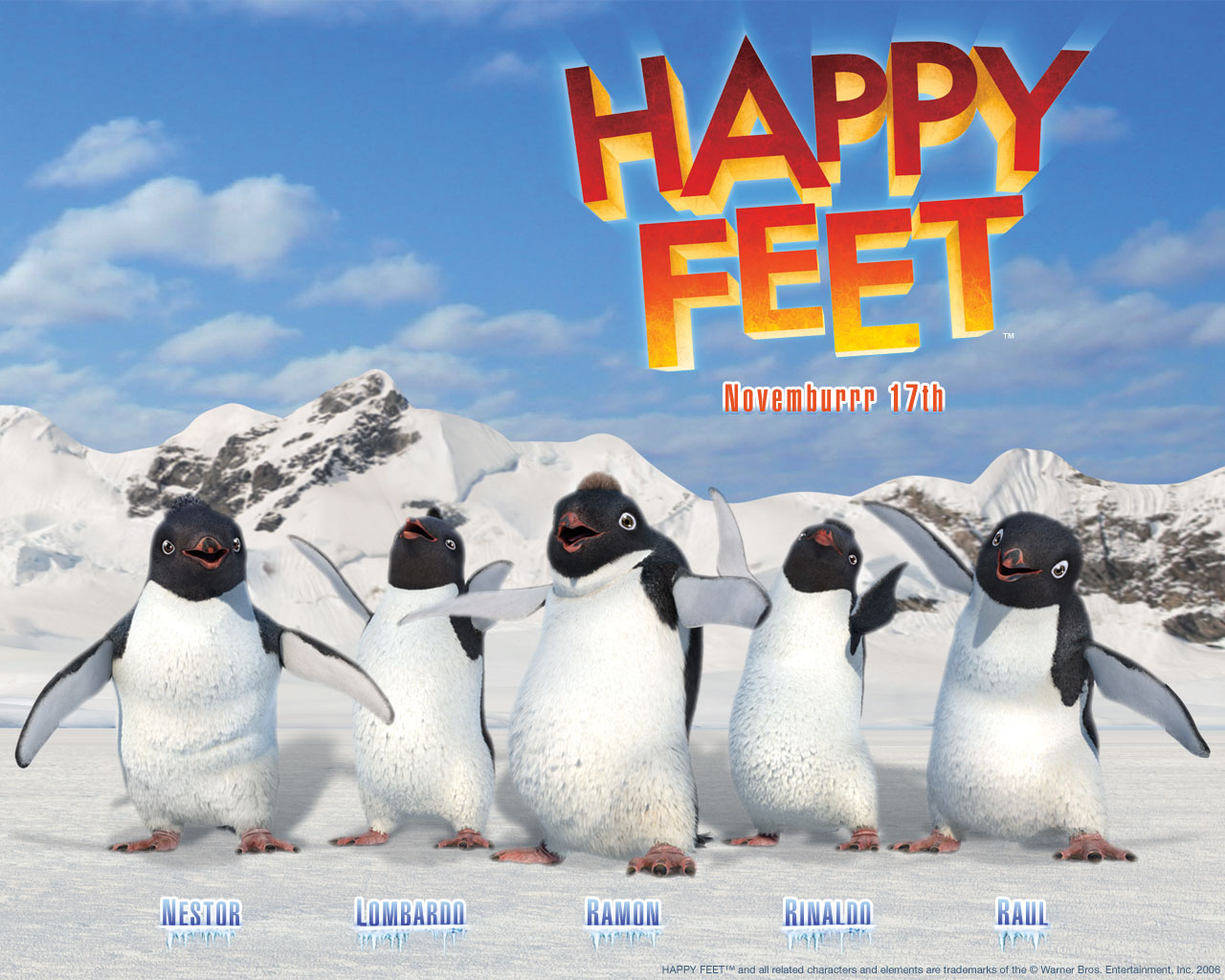 happy feet happy feet wallpaper 604399 fanpop