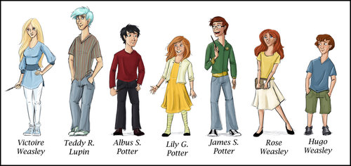 Harry Potter Next Generation - the-new-kids-from-harry-potter Fan Art