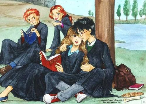 Harryxhermione