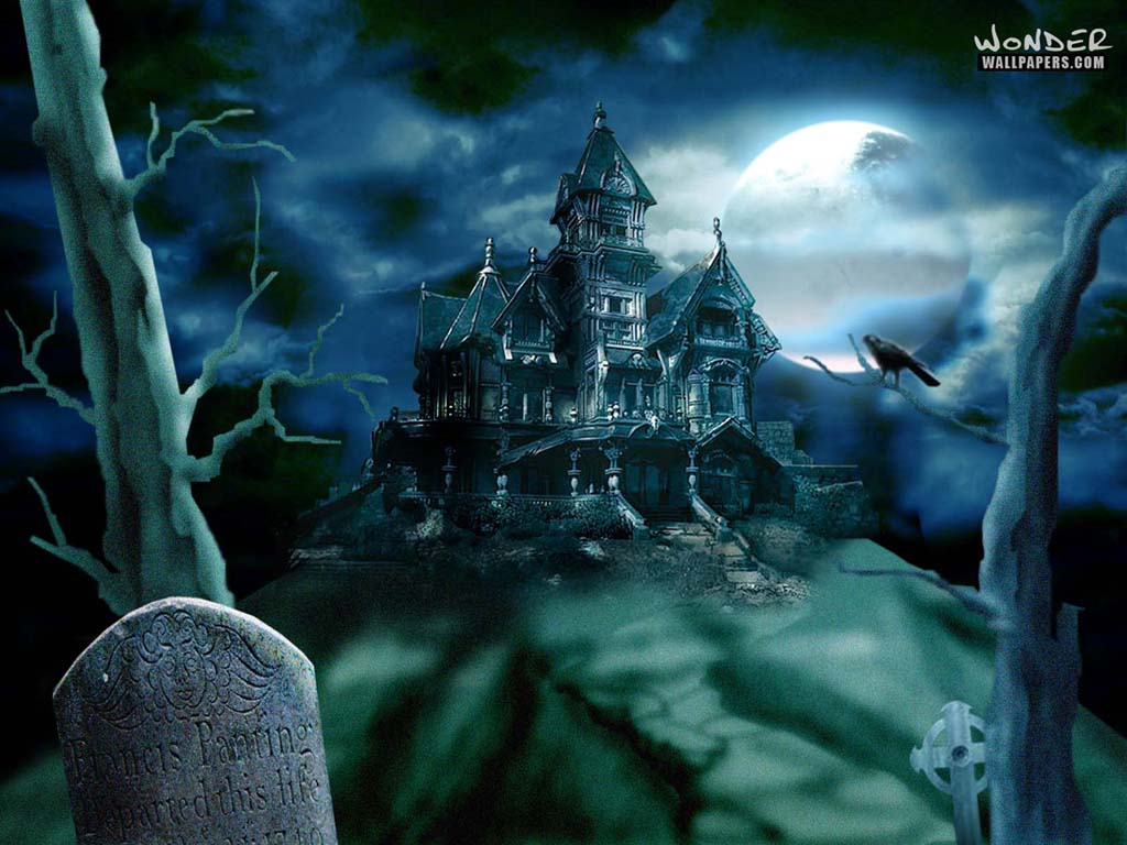 Haunted House - Halloween Wallpaper (250818) - Fanpop
