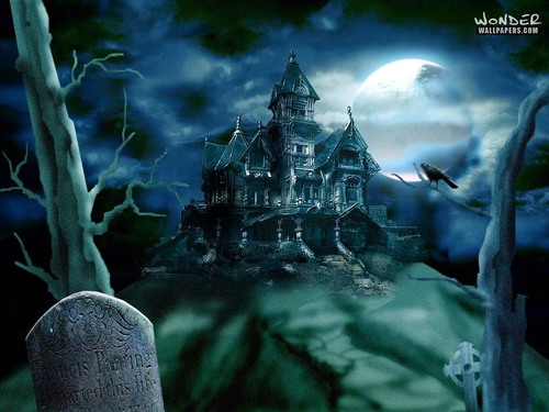 Haunted House - halloween Wallpaper