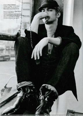 Hayden in Details Magazine