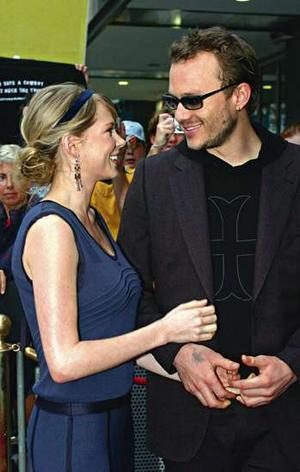 Heath &amp; Michelle - heath-ledger Photo