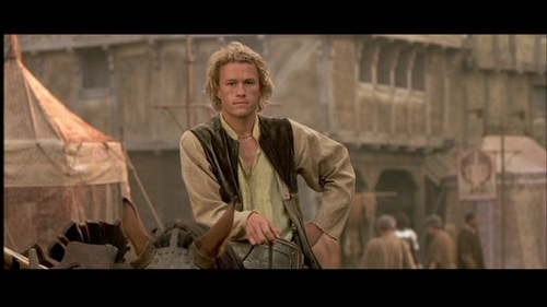 Heath in A Knight's Tale