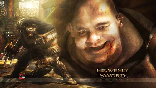 Heavenly Sword kertas dinding