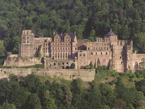 Heidelberg गढ़, महल