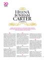Helena Bonham Carter 20 Q's - playboy photo