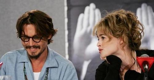 Helena and Johnny Depp