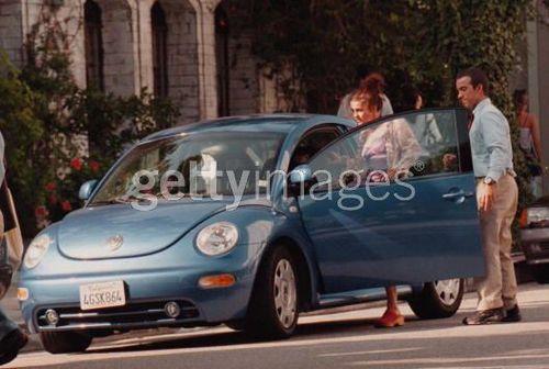 Helena bonham Carter's car