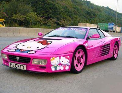 Hello Kitty Vehicles