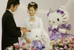Hello Kitty Wedding - hello-kitty Fan Art
