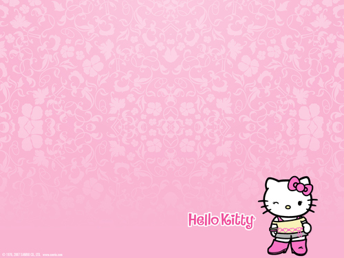 Sanrio wallpaper titled Hello Kitty