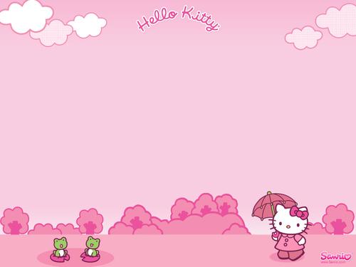 Sanrio wallpaper called Hello Kitty