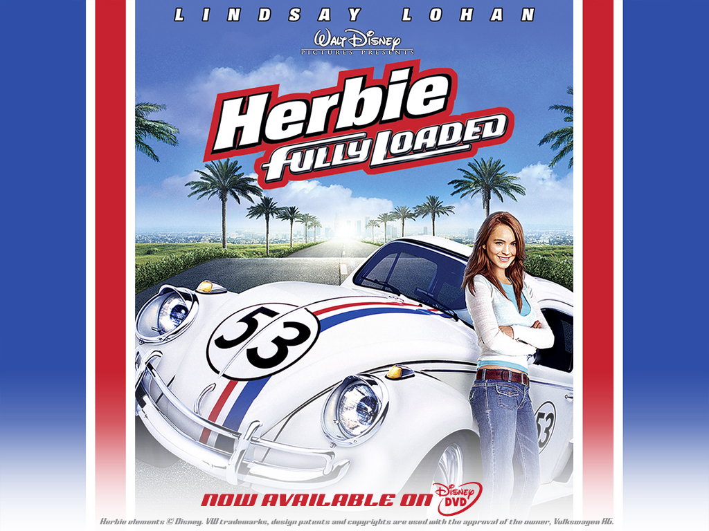 Lindsay Lohan Herbie Fully Loaded