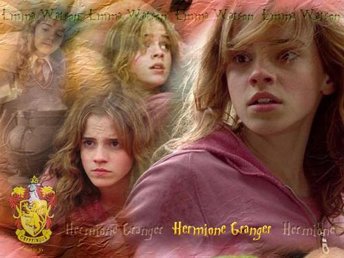 Hermione karatasi la kupamba ukuta