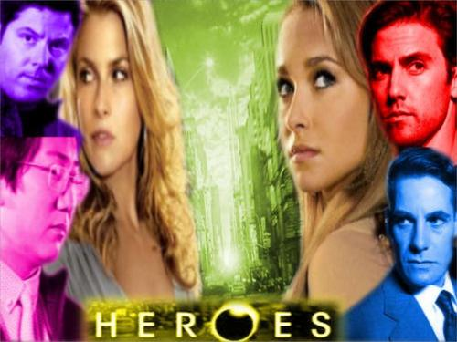Heroes wallpaper called Heroes - Colour Coded