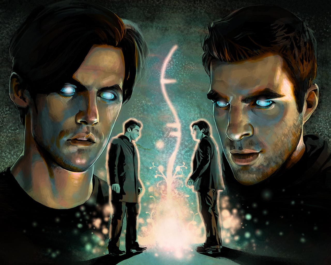 Peter vs Sylar Heroes