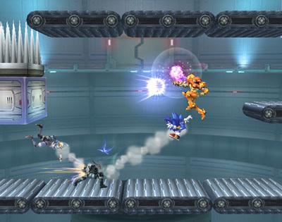 Super Smash Bros. Brawl वॉलपेपर entitled Hidden Stage Builder Parts