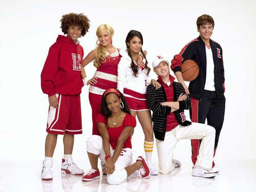 Disney Channel Original Movies wallpaper called High School Musical