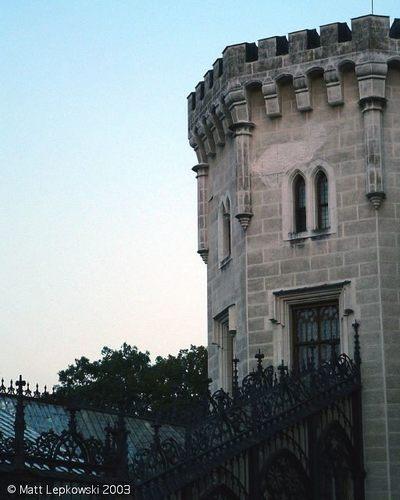 Hluboka castillo