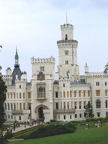 Hluboka 城