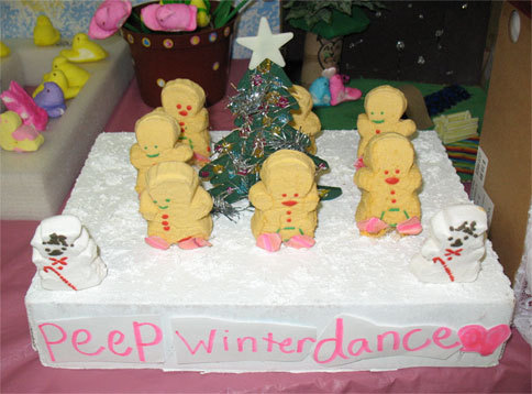 Holiday Peep Dance