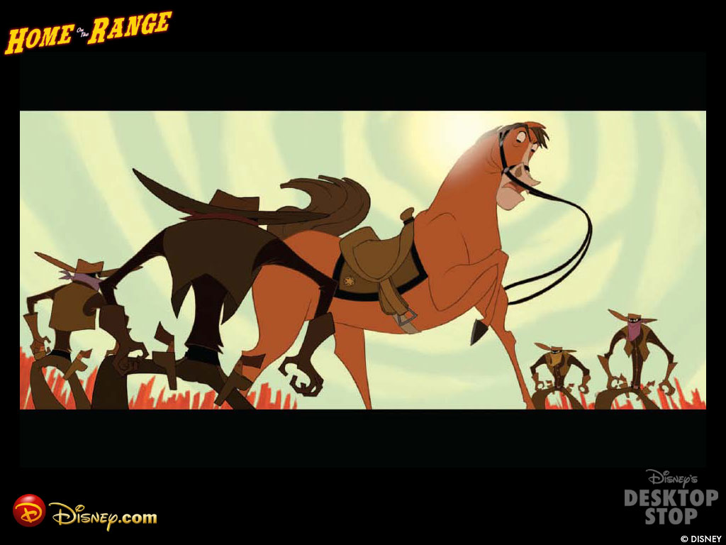 Home On The Range Classic Disney Wallpaper 218946 Fanpop