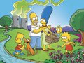 Homer and his Family - homer-simpson photo