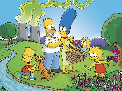 Homer Simpson wallpaper called Homer and his Family