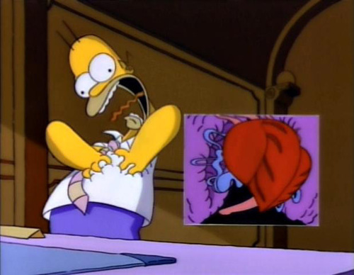 Homer's 심장 Attack