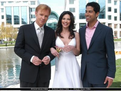 CSI: Miami wallpaper entitled Horatio,Marisol,Eric