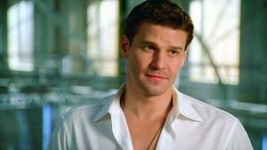 Seeley Booth achtergrond entitled Hot!