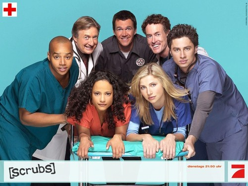 Hot Cast - scrubs Wallpaper