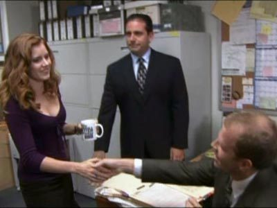 the office the hot girl episode