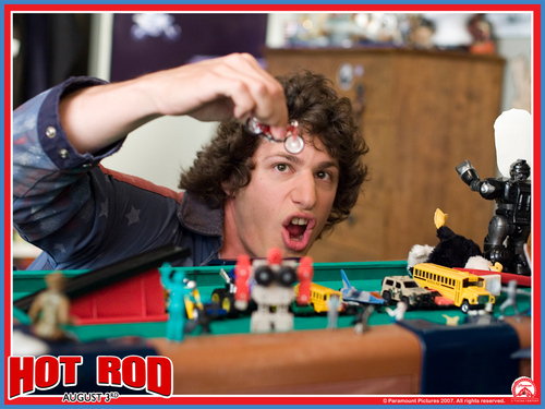 Andy Samberg wallpaper called Hot Rod Wallpaper