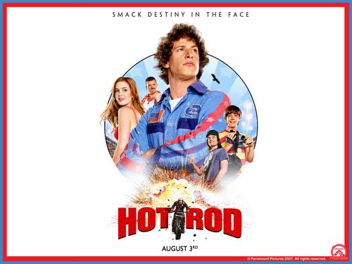 Hot Rod kertas dinding