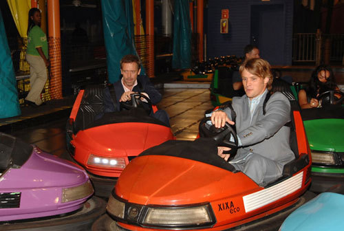 House MD Cast in Bumper Cars