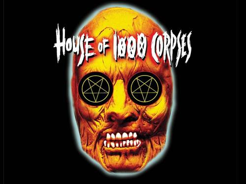 Horror فلمیں پیپر وال entitled House of 1000 Corpses