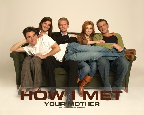 How I Met Your Mother dipan, sofa