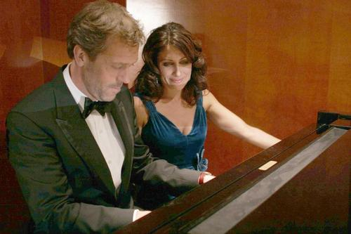 Huddy on the Piano