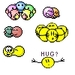 Hug Emoticons