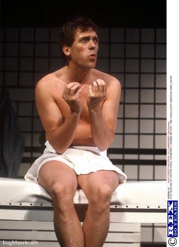 Hugh@ the theatre
