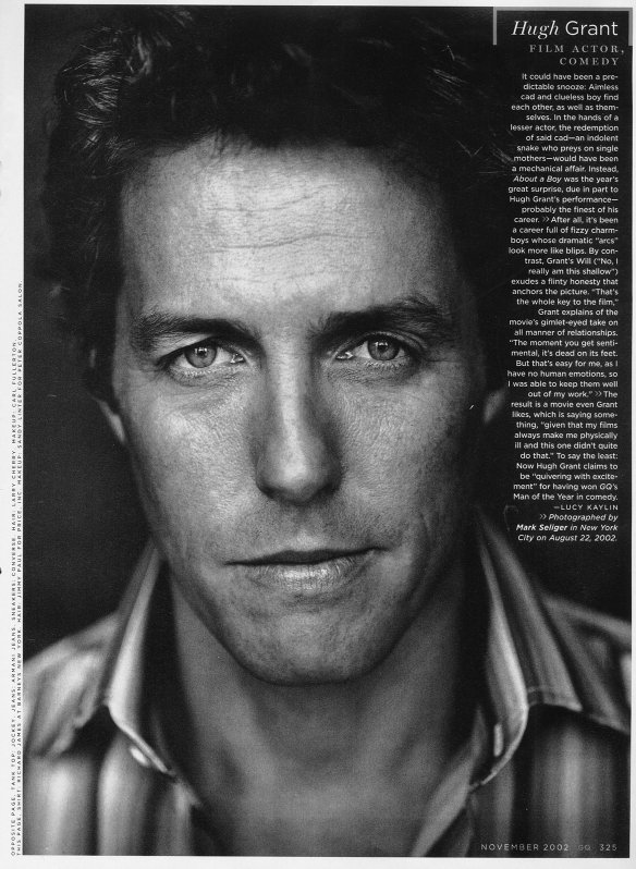 Hugh Grant - Wallpaper Actress