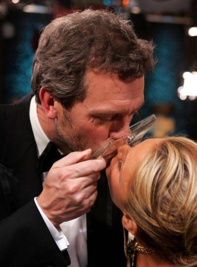 Hugh Laurie, Nancy O'Dell