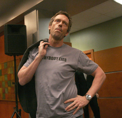 Dr. House Hintergrund called Hugh Laurie