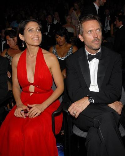 Hugh and Lisa at the Emmys