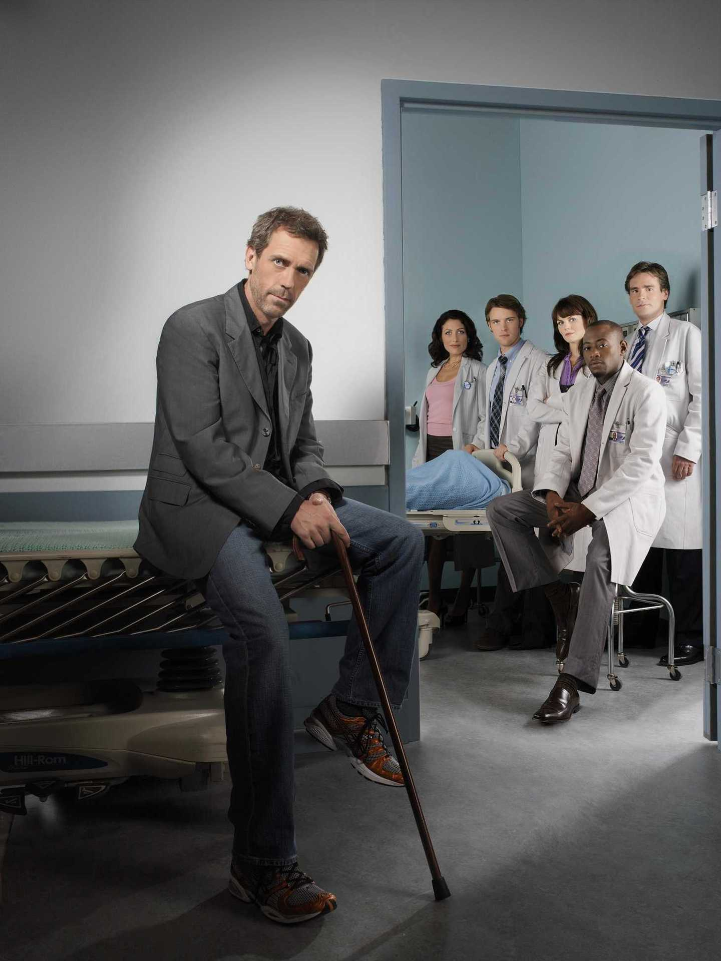 Hugh Laurie images Hugh and the cast of House wallpaper ...