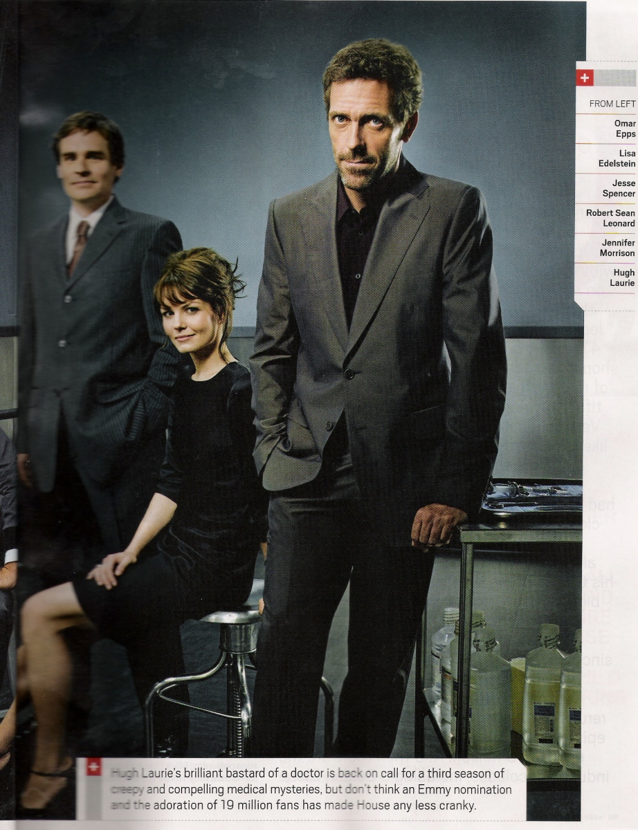 Hugh and the cast of House - Hugh Laurie Photo (562908 ...